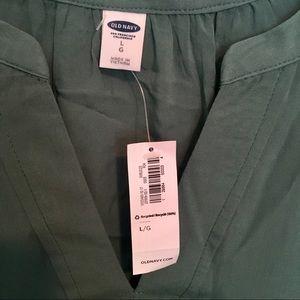 Old Navy Tops - Jade Green flowy short sleeved Blouse